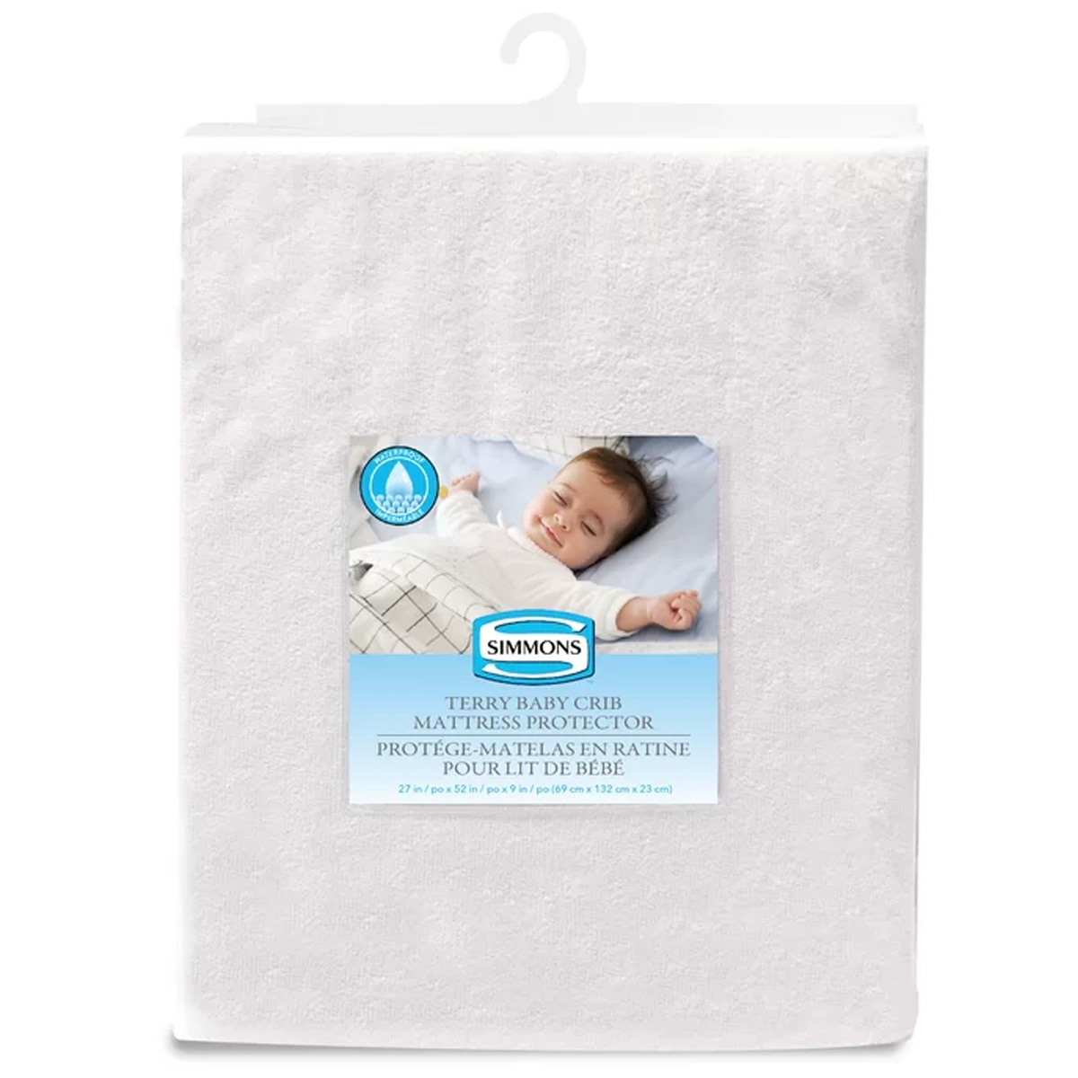 Simmons Terry Crib Mattress Protector West Coast Kids